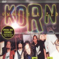Vídeos y DVD Musicales: '[R-U READY] - UNAUTHORIZED KORN'. DOCUMENTAL, ACTUACIONES Y ENTREVISTAS. IMPORTACIÓN USA.. Lote 158460246