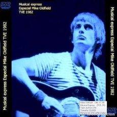 Vídeos y DVD Musicales: MIKE OLDFIELD - MUSICAL EXPRESS, TV1 - MADRID, SPAIN 9 JULY, 1981 (DVD). Lote 178996187