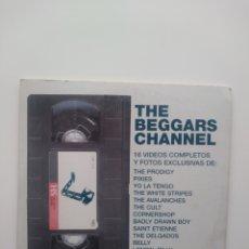 Vídeos y DVD Musicales: THE BEGGARS CHANNEL. 16 VIDEOS COMPLETOS Y FOTOS EXCLUSIVAS.DVD2002.. Lote 159069762