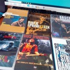 Vídeos y DVD Musicales: LOTE DE 6 DVD. BRUCE SPRINGSTEEN. B27DVD. Lote 159842122