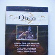 Vídeos y DVD Musicales: OTELO. Lote 160333234