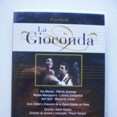 Vídeos y DVD Musicales: LA GIOCONDA. DVD DIVINA OPERA. Lote 160333506