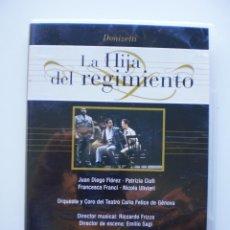 Vídeos y DVD Musicales: LA HIJA DEL REGIMIENTO. DVD DIVINA OPERA. Lote 160334074