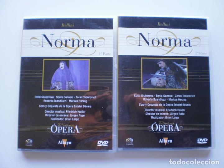 NORMA. 2 DVD DIVINA OPERA (Música - Videos y DVD Musicales)