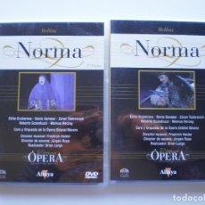 Vídeos y DVD Musicales: NORMA. 2 DVD DIVINA OPERA. Lote 160335178