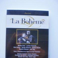 Vídeos y DVD Musicales: LA BOHEME. DVD DIVINA OPERA. Lote 160336326
