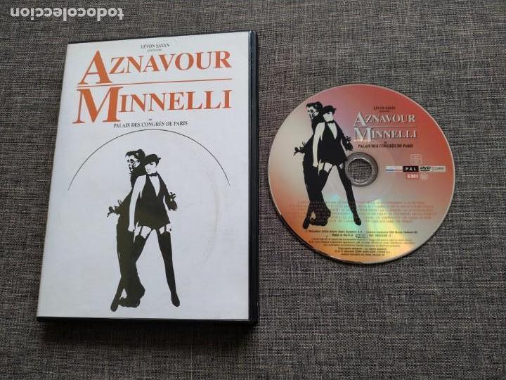 DVD AZNAVOUR - MINELLI - PALAIS DES CONGRES DE PARIS - LEVON SAYAN - RARE (Música - Videos y DVD Musicales)