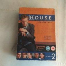 Vídeos y DVD Musicales: DVD HOUSE SEASON TWO. Lote 160872778