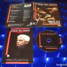 Vídeos y DVD Musicales: HERBERT VON KARAJAN - LUDWIG VAN BEETHOVEN (BERLINER PHILHARMONIKER / SYMPHONIES NOS. 4 & 5) - DVD. Lote 161390814