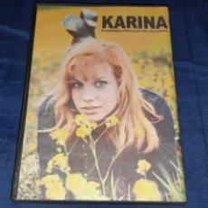 Vídeos y DVD Musicales: KARINA, EN UN MUNDO NUEVO, EL CONTRABANDO, LA CHICA DE LOS ANUNCIOS, EXTRAIDAS DEL VHS. Lote 161509250