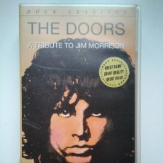 Vídeos y DVD Musicales: THE DOORS - A TRIBUTE TO JIM MORRISON - VHS. Lote 161576356