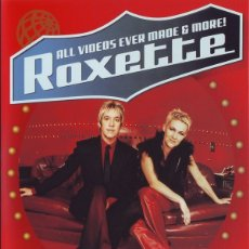 Vídeos y DVD Musicales: DVD - ROXETTE - ALL VIDEOS EVER MADE AND MORE ! - THE COMPLETE COLLECTION 1987 / 2001. Lote 161727634