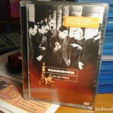 Vídeos y DVD Musicales: RAMMSTEIN LIVE AUS BERLÍN DVD. Lote 163352486