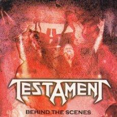 Vídeos y DVD Musicales: TESTAMENT - BEHIND THE SCENES & ITALY MONSTERS OF ROCK 1992 - DVD REGION 0 #. Lote 163449570
