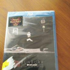 Vídeos y DVD Musicales: BUNBURY - UNPLUGGED, EL LIBRO DE LAS MUTACIONES - BLU-RAY + CD HÉROES DEL SILENCIO. Lote 163768196
