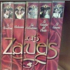 Vídeos y DVD Musicales: LAS ZARZUELAS - COLECCION RTVE - AÑOS 80-90. Lote 164807858