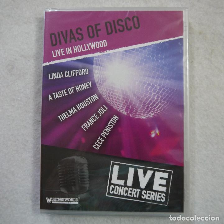 DIVAS OF DISCO. LIVE IN HOLLYWOOD - LIVE CONCERT SERIES - DVD PRECINTADO (Música - Videos y DVD Musicales)
