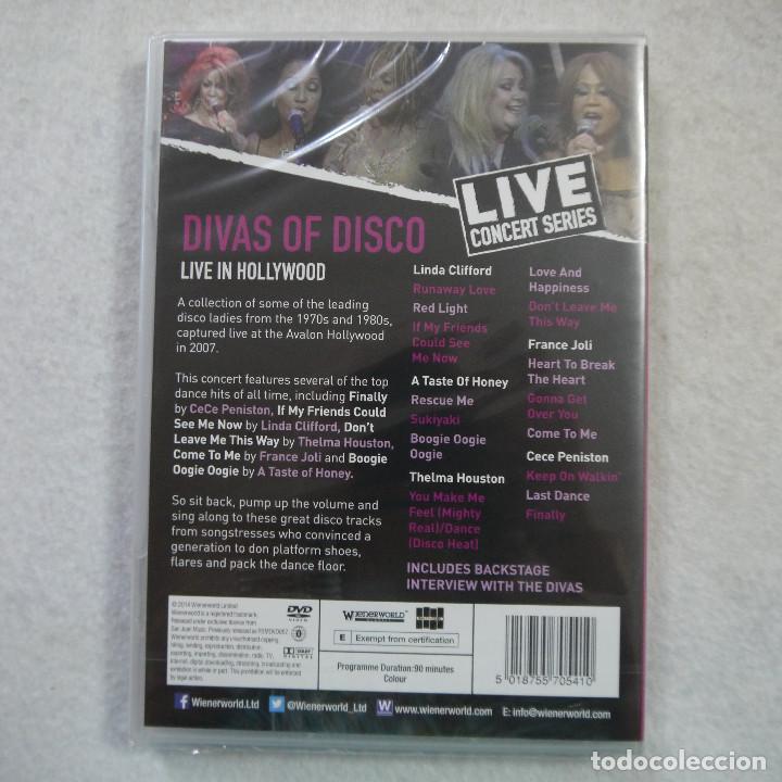 Vídeos y DVD Musicales: DIVAS OF DISCO. LIVE IN HOLLYWOOD - LIVE CONCERT SERIES - DVD PRECINTADO - Foto 2 - 165200890