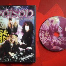 Vídeos y DVD Musicales: POISON DVD NOTHING BUT A GOOD TIME! HARD ROCK GLAM 2003. Lote 165281344