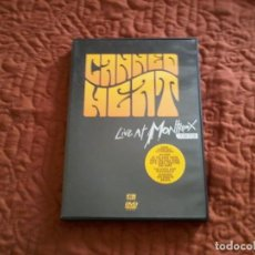 Vídeos y DVD Musicales: CANNED HEAT LIVE AT MONTREAUX 1973 DVD. Lote 165661302