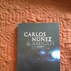 Vídeos y DVD Musicales: CARLOS NÚÑEZ & AMIGOS EN DIRECTO 2004 VIGO CD + DVD. Lote 165661574