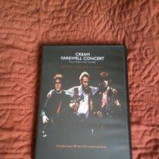 Vídeos y DVD Musicales: CREAM FAREWELL CONCERT DVD. Lote 165661802