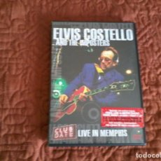 Vídeos y DVD Musicales: ELVIS COSTELLO & THE IMPOSTERS LIVE IN MENPHIS DVD. Lote 165661954