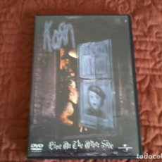 Vídeos y DVD Musicales: KORN LIVE ON THE OTHER SIDE DVD. Lote 165662114
