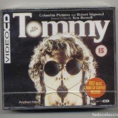Vídeos y DVD Musicales: TOMMY THE MOVIE 2X VIDEO CD NUEVO, PRECINTADO . Lote 165663354