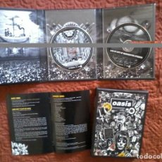 Vídeos y DVD Musicales: OASIS LORD DON'T SLOW ME DOWN 2XDVD BOX . Lote 165666662