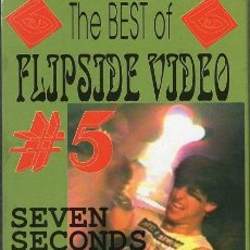 Vídeos y DVD Musicales: SEVEN SECONDS / YOUTH BRIGADE - THE BEST OF FLIPSIDE VIDEO #5 - VHS PAL. Lote 165706922
