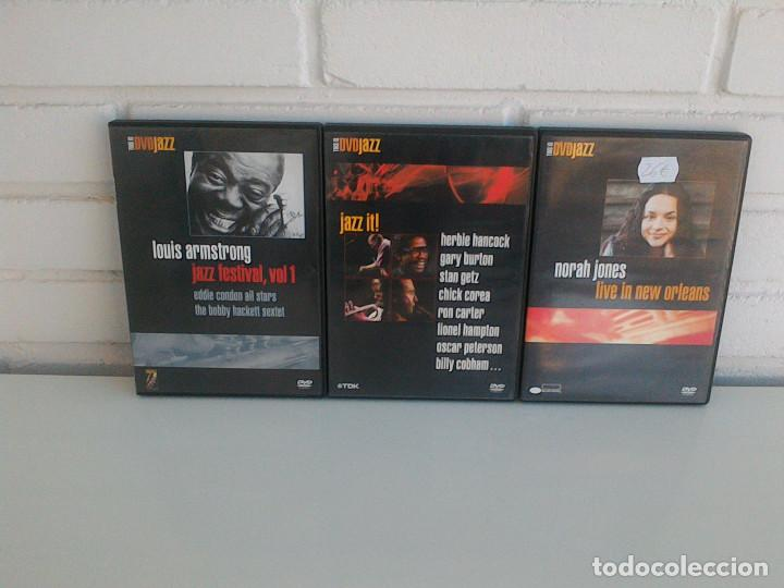 Vídeos y DVD Musicales: THIS IS DVDJAZZ. NORAH JONES, LOUIS ARMSTRONG, CHICK COREA, HERBIE HANCOCK, GARY BURTON, RON CARTER. - Foto 1 - 165708034