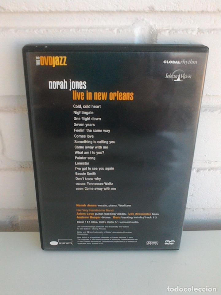 Vídeos y DVD Musicales: THIS IS DVDJAZZ. NORAH JONES, LOUIS ARMSTRONG, CHICK COREA, HERBIE HANCOCK, GARY BURTON, RON CARTER. - Foto 5 - 165708034