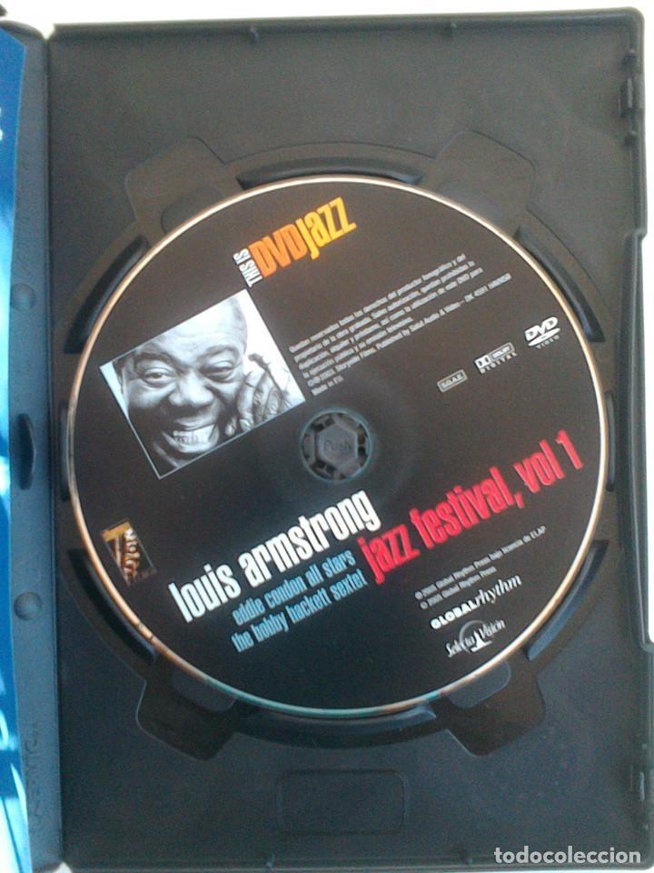 Vídeos y DVD Musicales: THIS IS DVDJAZZ. NORAH JONES, LOUIS ARMSTRONG, CHICK COREA, HERBIE HANCOCK, GARY BURTON, RON CARTER. - Foto 10 - 165708034