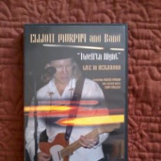 Vídeos y DVD Musicales: ELLIOTT MURPHY AND BAND TWELFTH NIGHT LIVE IN HEILBRONN DVD . Lote 165776374