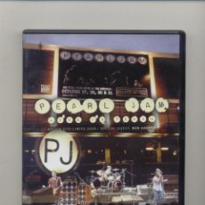 Vídeos y DVD Musicales: PEARL JAM LIVE IN TEXAS + TOURING BAND 2000 2XDVD . Lote 165821546