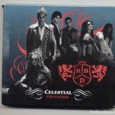 Vídeos y DVD Musicales: RBD CELESTIAL FAN EDITION CD + DVD COMO NUEVO. Lote 178682107