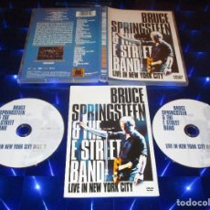 Vídeos y DVD Musicales: BRUCE SPRINGSTEEN & THE E STREET BAND / LIVE IN NEW YORK CITY - 2 DVD - 54071 9. Lote 165860818