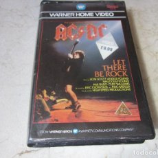 Vídeos y DVD Musicales: AC/DC - LET THERE BE ROCK VHS - ATLANTIC UK 1985. Lote 166346126