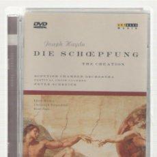 Vídeos y DVD Musicales: NUMULITE * DIE SCHOEPFUNG THE CREATION JOSEPH HAYDN SCOTTISH CHAMBER ORCHESTRA T13. Lote 166537254