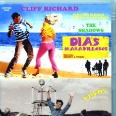 Vídeos y DVD Musicales: DÍAS MARAVILLOSOS (PACK 2 DVDS PRECINTADO) CLIFF RICHARD SUSAN HAMPSHIRE. Lote 204189407