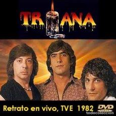 Vídeos y DVD Musicales: TRIANA - RETRATO EN VIVO TVE - 14-JULIO- 1981 (DVD). Lote 194724417