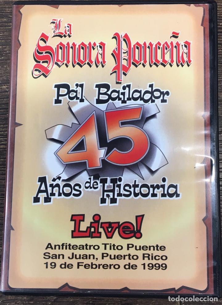 DVD LA SONORA PONCEÑA . (Música - Videos y DVD Musicales)
