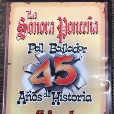 Vídeos y DVD Musicales: DVD LA SONORA PONCEÑA .. Lote 167102241