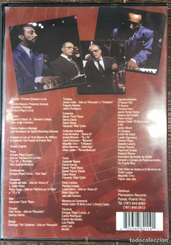 Vídeos y DVD Musicales: DVD LA SONORA PONCEÑA . - Foto 2 - 167102241