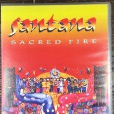 Vídeos y DVD Musicales: VHS SANTANA SACRED FIRE. Lote 167102402