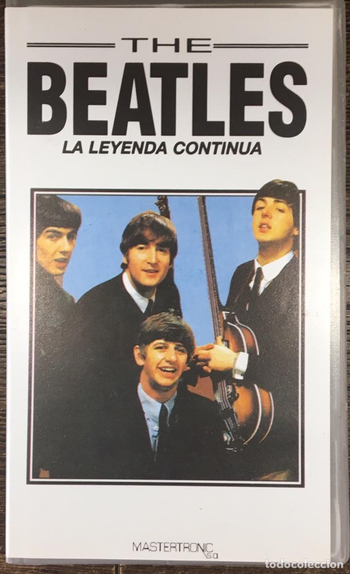 VHS THE BEATLES . (Música - Videos y DVD Musicales)