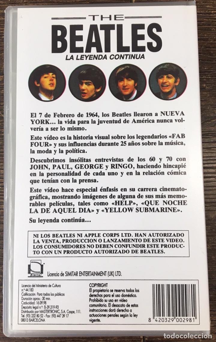 Vídeos y DVD Musicales: VHS THE BEATLES . - Foto 2 - 167102554