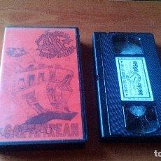 Vídeos y DVD Musicales: SOZIEDAD ALKOHOLIKA - KONTZERTUA GAZTETXEAN - (VHS ORIGINAL) (CARATULA FOTOCOPIADA). Lote 167166040