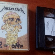 Vídeos y DVD Musicales: METALLICA - 2 OF ONE - VHS . Lote 167166516